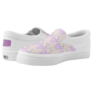 Easter Chick Slip-On Sneakers