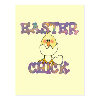 Easter Chick T-shirts and Gifts Postcard