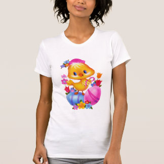 Easter Chick womens t-shirt
