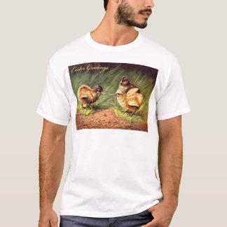 Easter Chick Worm Grass T-Shirt