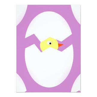 easter chicken egg card