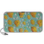 Easter chickens & Catkins Pattern Laptop Speakers