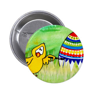 easter chicklet pinback button