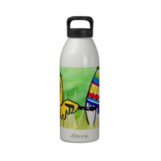 easter chicklet reusable water bottles