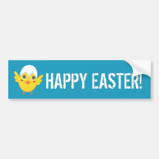 Easter Chicks Bumper Sticker