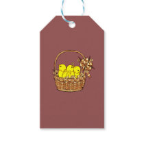 Easter Chicks Gift Tags