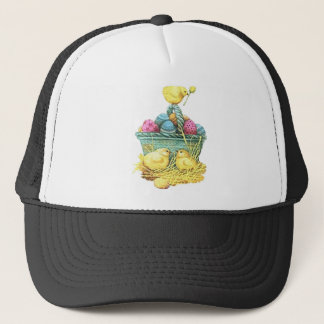 Easter Chicks in Basket Trucker Hat