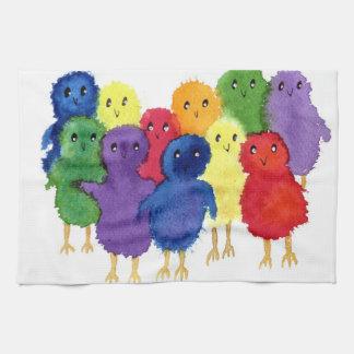 Easter Chicks Kitchen Towel