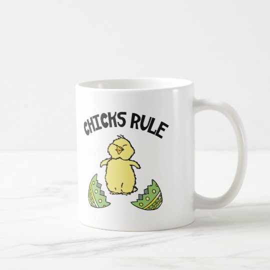 Easter Chicks Rule Coffee Mug