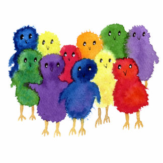 Easter Chicks Sculpture