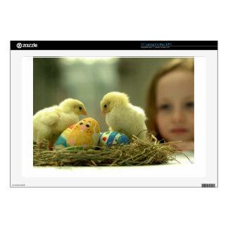 Easter Chicks Skins For Laptops