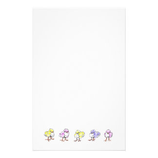 Easter Chicks Stationery