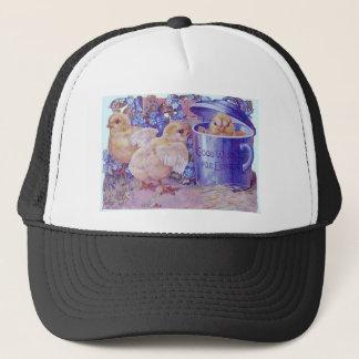 easter chicks trucker hat
