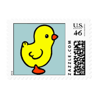 Easter Chicky Stamps