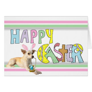 Easter Chihuahua Stationery Note Card