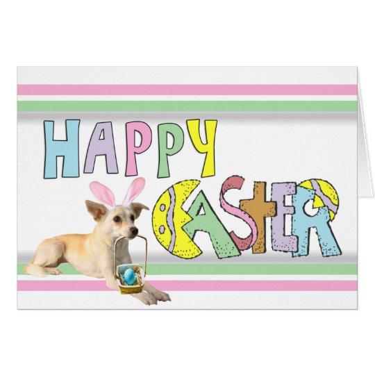 Easter Chihuahua Card
