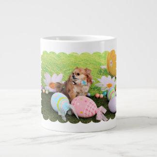 Easter - Chihuahua - Carlito 20 Oz Large Ceramic Coffee Mug