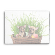 Easter Chihuahua puppies Envelope