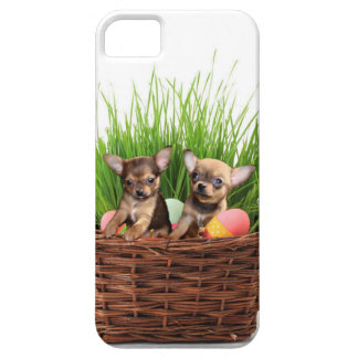Easter Chihuahua puppies iPhone SE/5/5s Case