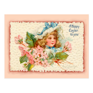 Easter Child Post Card
