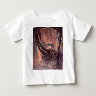 Easter Chimes Awaken Nature by Alphonse Mucha Infant T-shirt