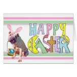 Easter Chinese Shar Pei Greeting Card