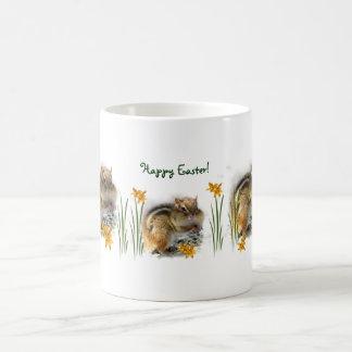 Easter Chipmunk Coffee Mug