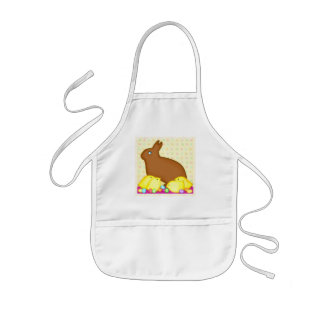 Easter Chocolate Bunny Apron