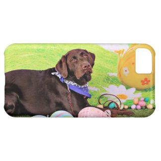 Easter - Chocolate Labrador - Hershey iPhone 5C Case