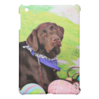 Easter - Chocolate Labrador - Hershey Case For The iPad Mini