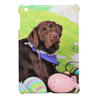 Easter - Chocolate Labrador - Hershey Cover For The iPad Mini