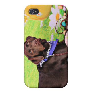 Easter - Chocolate Labrador - Hershey iPhone 4/4S Cover