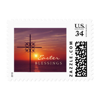 Easter Christian Cross stamps