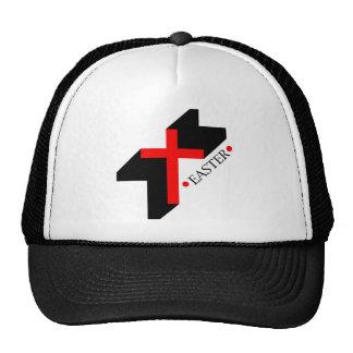Easter christian gift with cross trucker hat