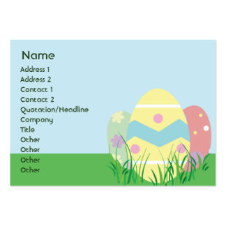 Easter - Chubby Business Card
