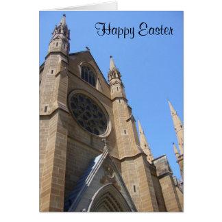 easter church greeting card