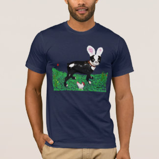 Easter Clancey the Boston Terrier T-Shirt