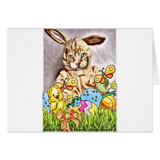 Easter Claude Card