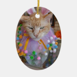 Easter Claude Ceramic Ornament