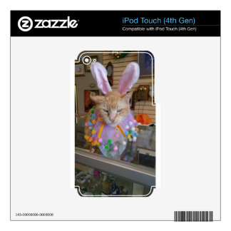 Easter Claude Decal For iPod Touch 4G