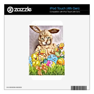 Easter Claude iPod Touch 4G Skins