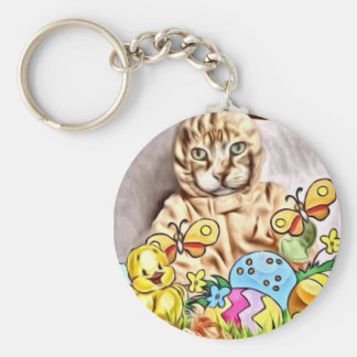 Easter Claude Keychain