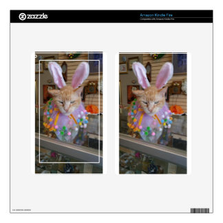 Easter Claude Kindle Fire Skin