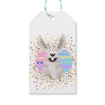 Easter, Colorful, Rabbit, Funny Gift Tags
