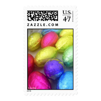 'Easter Colors' Postage