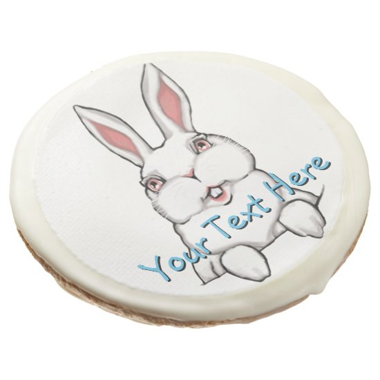Easter Cookies Personalized Easter Bunny Cookies