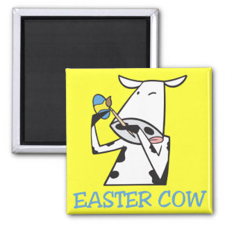 Easter Cow Magnet