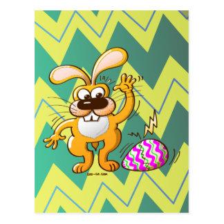 Easter Cracking Egg Postcard