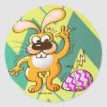 Easter Cracking Egg Stickers