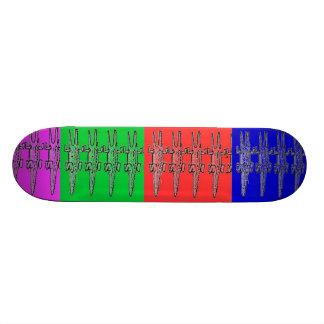 EASTER CROC SKATES SKATE BOARDS